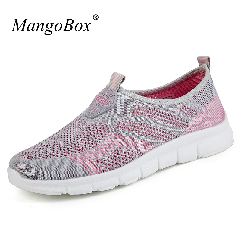 Women Running Shoes Summer Breathable Cheap Sneakers Slip on Ladie Runners Lightweight A ...