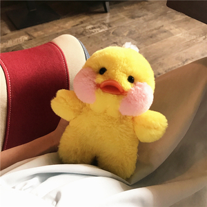 Image 4 - Cartoon Phone Case For Iphone 12 11 Pro MAX  Cute Yellow Duck Doll Cover Case For Iphone XS XR 8plus 7 6plus SE Fluffy Plush