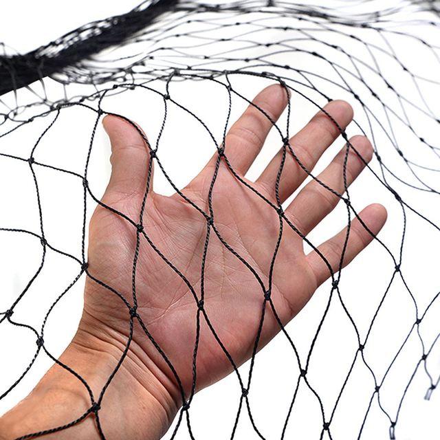 Garden Vegetables Protection Anti Bird Netting Plastic 7.5*15M Pond Net Crops Fruit Tree Flower Mesh Protect Pest Control