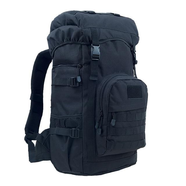 03291d8c50 Nouveau 55L sac à dos en plein air militaire tactique sac de sport armée  Camping voyage