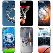 Buring Basketball Basket Football Soft Case For Galaxy A3 A5 A6 A6s A7 A8 A9 J1 Mini J2 J5 J6+ J7 Core Star Duo Max 2017 2018(China)