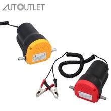 AUTOUTLET 12V 60W Oil Diesel Extractor Suction Pump Transfer Fluid Change For Car Boat Motorbike