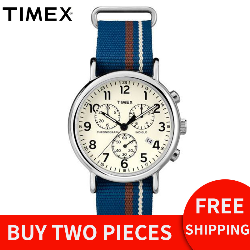 2018 Special Offer Rushed For Timex Men Watches Unisex Weekender Tw2p624 Classic Canvas Chronography Multi-function Male Watch