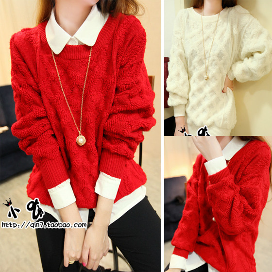 Free shipping new 2013 cute christmas sweaters for women autumn ...