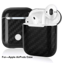 3K Carbon Fiber Case For Apple AirPods Cover Ultra-thin & Scratch-resistant Real Carbon Fiber for AirPods Case – Glossy