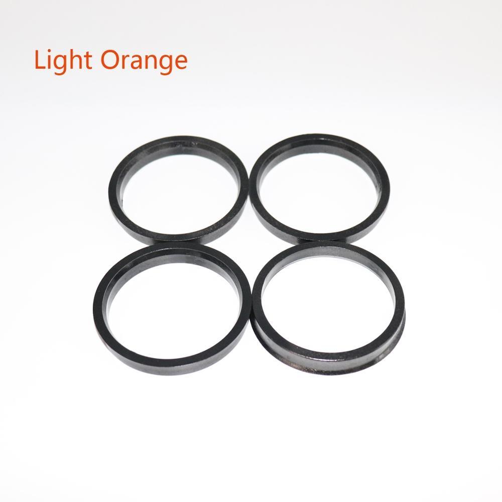 4pcs Hub Centric Rings Car Wheel Bore Center Collar 66.6-57.1 73.1-54.1 73.1-56.1 73.1-60.1 73.1-64.1 73.1-67.1mm Wheel Hub Ring