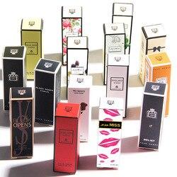 100 PCS 3 ML Parfüm Für Männer Und Frauen Zerstäuber Flasche Glas Mode Dame Weibliche Parfum Lange Anhaltende Blume Duft deodorant