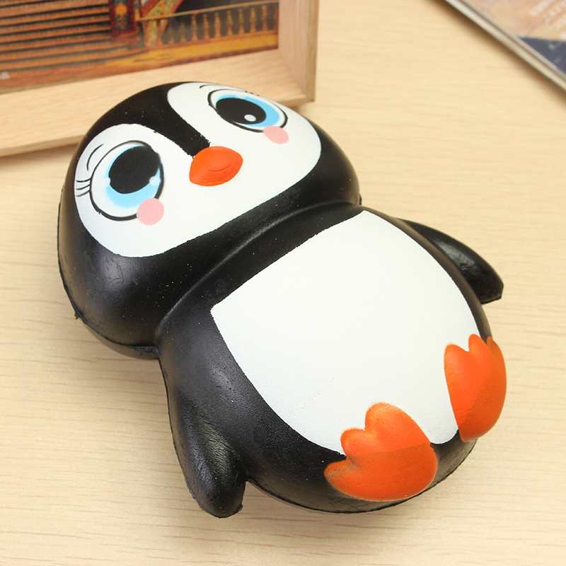Squishy Penguin Jumbo 13cm Slow Rising Soft Kawaii Cute Collection Gift Decor To