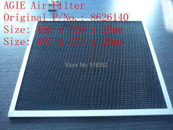 AGIE Air Filter  862.614.0 EDM Air Filter Agie parts 450 x 320 x 20 mm Wire EDM Machine Spare Parts