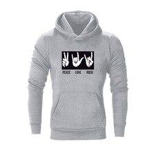 дешево!  высококачественный хлопок с капюшоном с принтом повседневный спортивный пуловер для мужчин