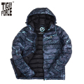 TIGER FORCE 2016 Brand Men Fashion Cotton Padded Jacket Winter Autumn Polyester Coat Camouflage European Size Free Shipping