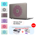 Fashion Petals Print Laptop Cover Case For Macbook Pro Air Retina 11 12 13 15 Notebook Sleeve bag for Apple Mac book 13.3 inch
