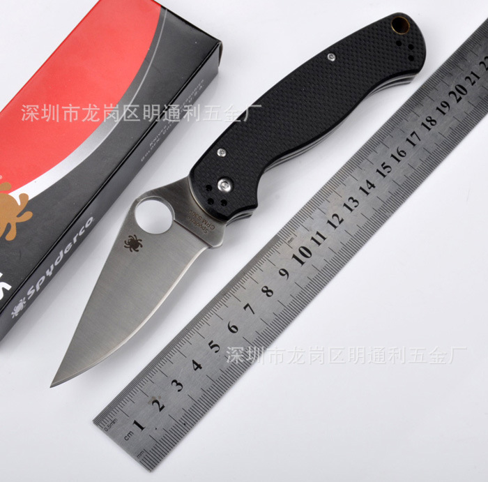 Hot Selling CPM S30V 58HRC Meisai G10 handle camping survival folding font b knife b font