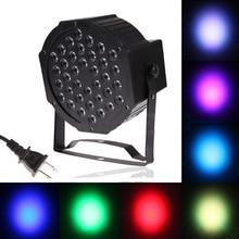 36 LED Освещение Сцены Par Лампы с Вилкой ЕС/США Plug для Клуба Dj DMX512