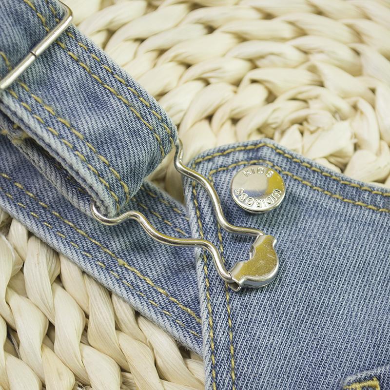 29af747545ce HSID1701007--6Infant Denim Jumpsuit Toddler Boy Girl Suspender Jeans Shorts  Kid Rompers Bodysuit Pocket Straps