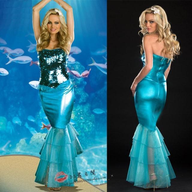 Mermaid Dresses for Halloween