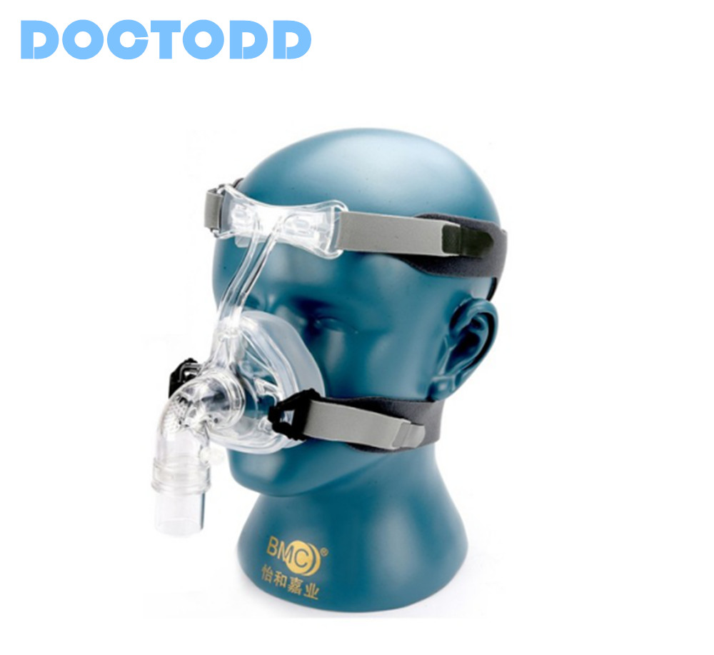 Doctodd Best NM2 Nasal Mask Selling Mask With Headgear In S M L Sizes Suitable For CPAP Auto Cpap APAP BiPAP and Oxygenerator new cpap headgear replacement fit for respironics comfort gel nasal mask head band