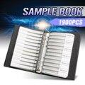 Nieuwe Collectie 1206 SMD SMT Chip Condensatoren Sample Boek 38ValuesX50Pcs Totaal 1900 pcs 10PF ~ 22 UF Condensator Diverse Kit