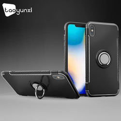 TAOYUNXI Cases For iPhone XS XR Max 7 6 6s Case iPhone 5 5S 6C SE 8 X Cover Car Magnet Anti-knock For iPhone 6 6s 7 8 plus Coque 1