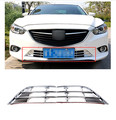 For Mazda 6 M6 Atenza 2013-2015 ABS Chrome Front Bottom Grille Grill Frame Trims Exterior Chromium Styling Parts 2pcs