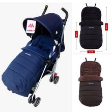 100 Brand maclaren strollers sleeping bag baby stroller footmuff for winter Free shipping