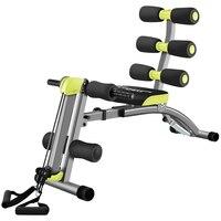 SiUPS фитнес-оборудование Multi-functional 4 gear Wide Adjustable Abdome Machine скамья для занятий с гантелями Supine Board Bearing 250 кг