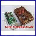 1 conjunto = 2 pcs 2262/2272 quatro-way kit controle remoto sem fio M4 placa receptor de bloqueio com quatro-botão de controle remoto sem fio