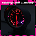 Dayo DF  BF 60mm EXT Temp/ Temperature Gauge High Quality EXT.Temp Gauge with Red & White Light
