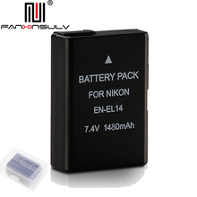 1x EN-EL14 en el14 digital battery for Nikon D5600 SLR camera D5300 D5500 D5200 D5100 D3500 D3400 D3300 D3200 Tracking