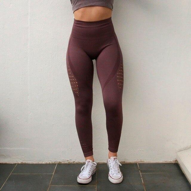 1e6a315d9a0800 ... Women Energy Seamless Tummy Control Yoga Pants Super Stretchy Gym Tights  High Waist Sport Leggings Running Pants. Previous. Next