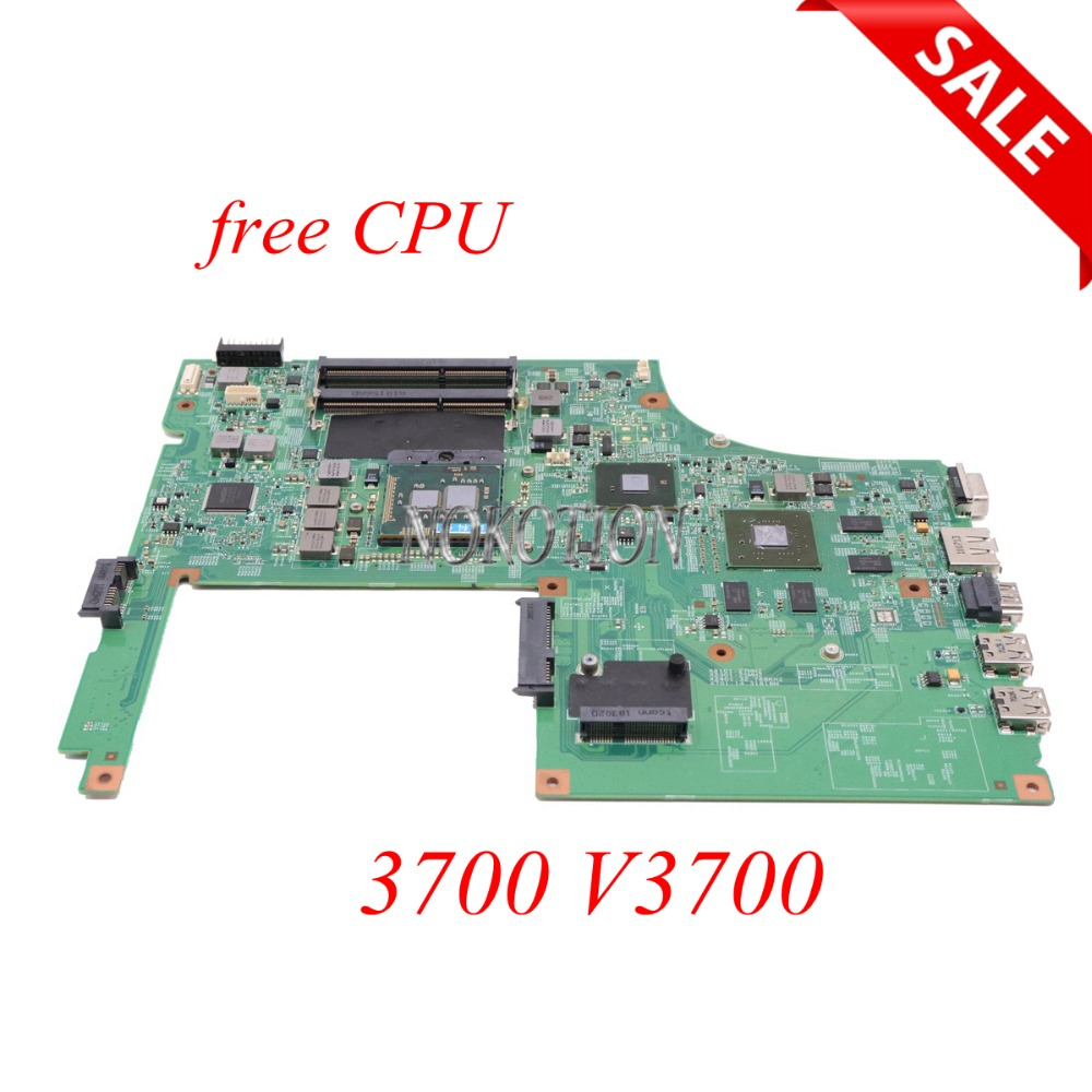 CN-0WTW8F 0WTW8F WTW8F Laptop Motherboard For DELL Vostro 3700 V3700 09290-1 48.4RU06.011 Main board Full tested original for dell 0x836m x836m poweredge r510 8 bay sas riser board backplane cn 0x836m fully tested