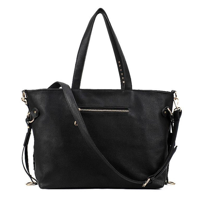 Luggage & Bags Hisuely New Women Bag Top-handle Big Capacity Female Handbag Fashion Shoulder Bag Purse Ladies Pu Leather Crossbody Bag Set 4pcs