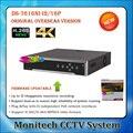 HiK Inglês NVR DS-7616NI-I2/16 P 16CH NVR P2P PoE Embutido 4 K vigilância Gravador de Vídeo de Apoio de até 12MP câmera IP 4 K H.265
