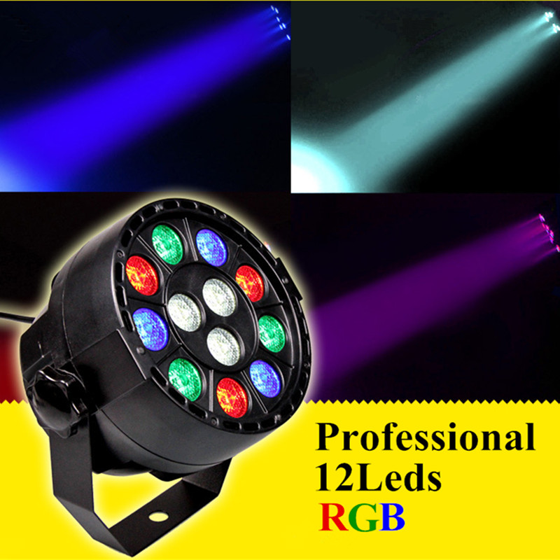 Professional 12LEDs Par light DMX512 Performance RGB Stage Light Laser Projector DMX Controller for DJ KTV Bar AC110- 220V lightme professional stage dj dmx stage light 192 channels dmx512 controller console dj light for disco ktv home party night