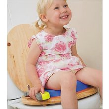 Blue Color pink Baby Travel Potty Chair 2 in 1 Seat Kids Comfortable Portable Toilet Assistant Multifunction Eco-friendly Stool