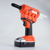 New Arrival 20v electric Cordless Riveter Gun with battery and fast charger tool case rivet gun