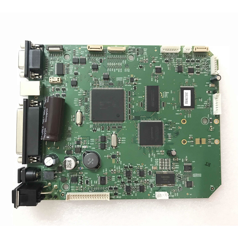 SEEBZ Original Disassemble Motherboard Interface Board for Zebra GX430 GX430T Barcode Printer Accessories test very good цена