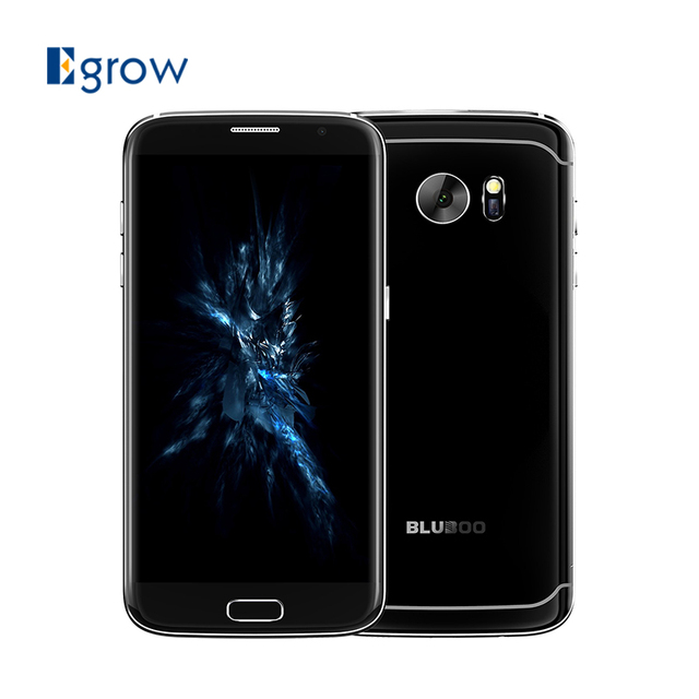 Original Bluboo Edge MTK6737 Quad Core Android 6.0 Mobile Phone 5.5 Inch Cell Phone 2G RAM 16G ROM Unlock Fingerprint Smartphone