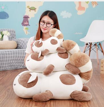 WYZHY Down cotton pillow plush toy sleeping hug cute cat girl birthday gift  90cm