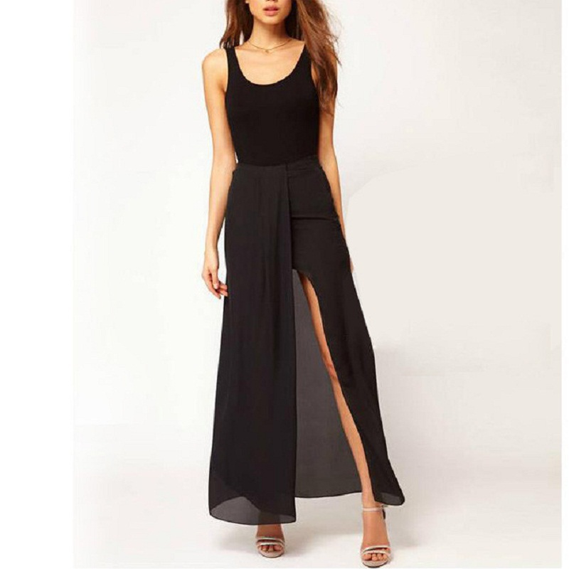 Popular Long Maxi Skirt Ruffle Split-Buy Cheap Long Maxi Skirt ...