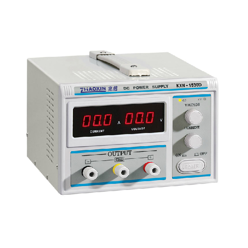 ZHAOXIN KXN-1530D Series High-power Switching DC Power Supply Single output 0-15V 0-30AZHAOXIN KXN-1530D Series High-power Switching DC Power Supply Single output 0-15V 0-30A