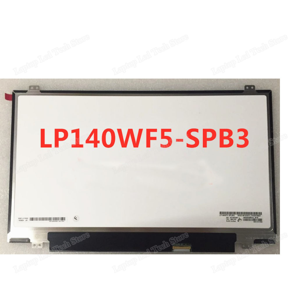 "B2 SP LAPTOP LED LCD Screen IN-CELL TOUCH 14.0/"" Full-HD LG PHILIPS LP140WF5"