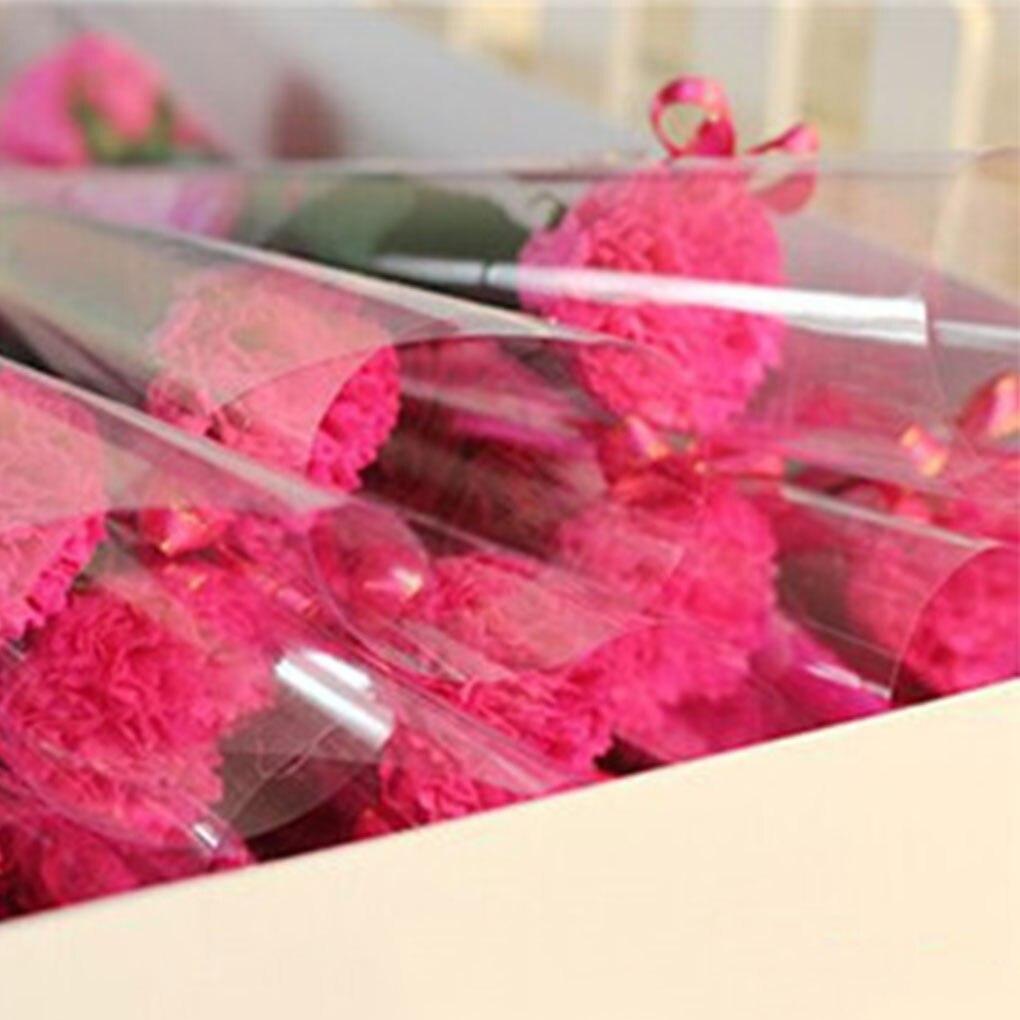 1pc Carnation Shaped Soap Decoration Soap Carnation Flower Petals Bath Soap Essential Oil Carnation Soap Valentine's Day Gift