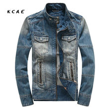 Free Shipping 2017 New Tops Cotton Men s Hoodie Jeans Jacket Outerwear Hooded Winter Coat Denim