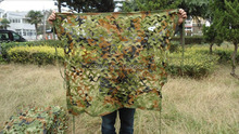 1x1m Camouflage Netting Woodland Leaves Camo Hunting Cloth for Camping Outdoor Sports Sunshades Tent