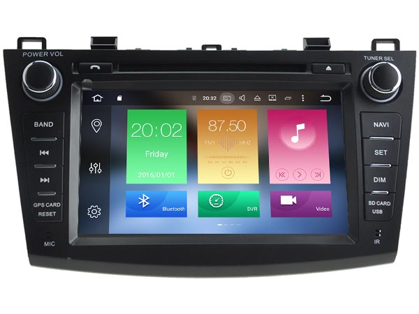 Android 6 0 font b CAR b font Audio DVD player FOR MAZDA 3 2010 2012