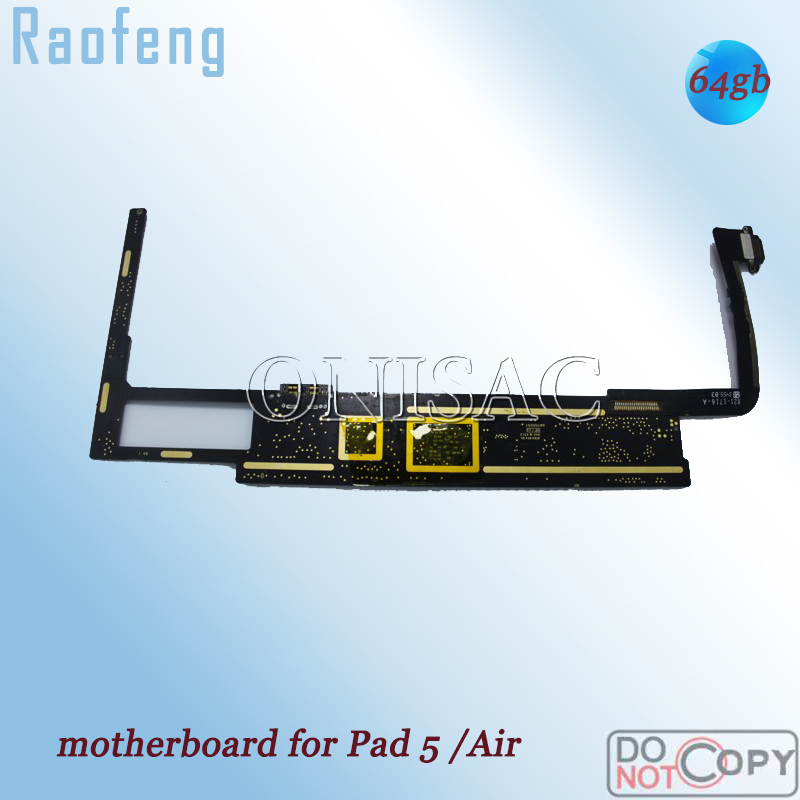Raofeng for iPad Air Mainboard 64GB Unlocked with Full-Chips Install-Ios-System Wifi-Version