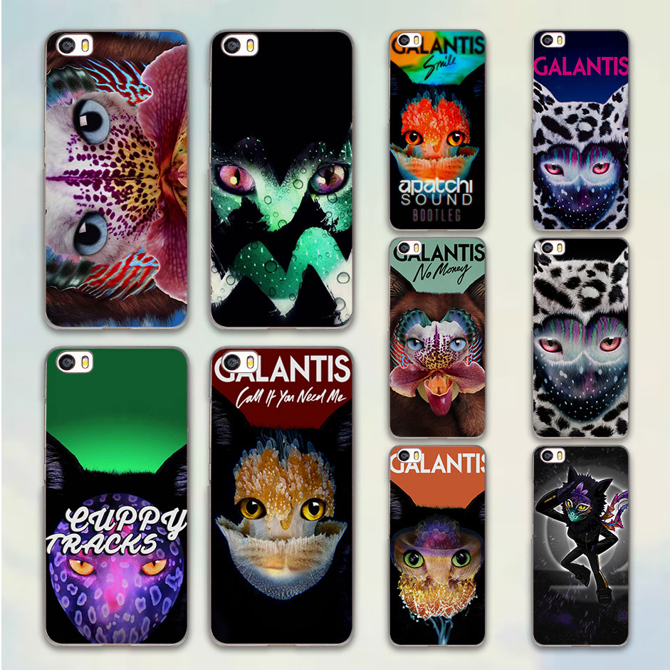 Galantis In My Head cat flower design hard clear Case Cover for Xiaomi Mi 4 4s 4c 5 5s note 2 Redmi 3 3s 4A 4 Pro note 3 note4