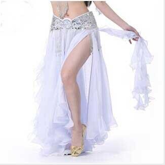 Nova oblikovalska bela odrska revija Suknje modni trebušni ples - Odrska in plesna oblačila
