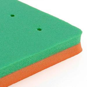 XIBAO 1 шт. пятигранная квадратная форма цветка для моделирования из мастики для торта, поролоновая подкладка, губчатая резинка, декоративный ...